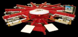 Máquinas de Serigrafía VOLT L Equipo de impresión textil profesional completamente eléctrica